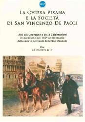 La Chiesa pisana e la Società di San Vincenzo De Paoli