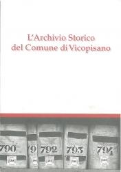 L'Archivio storico del comune di Vicopisano