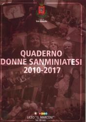 Quaderno donne sanminiatesi 2010-2017