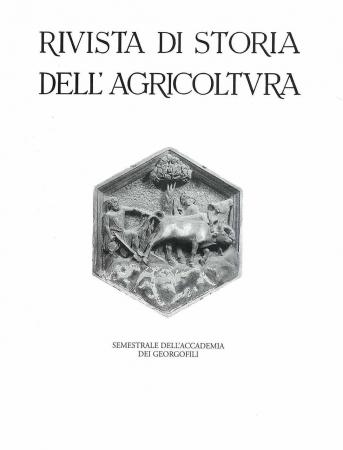 Rivista di storia dell'agricoltura