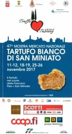 47. Mostra mercato nazionale Tartufo bianco di San Miniato