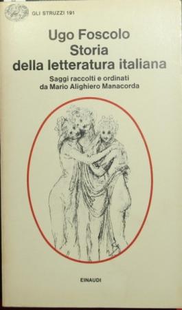 Storia della letteratura italiana per saggi