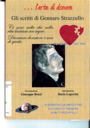 L' arte di donare. Gli scritti di Gennaro Strazzullo