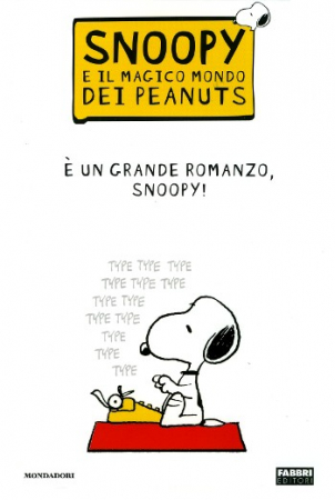È un grande romanzo, Snoopy!