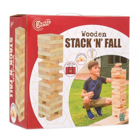 Wooden Stack'n'fall (maxi Jenga)