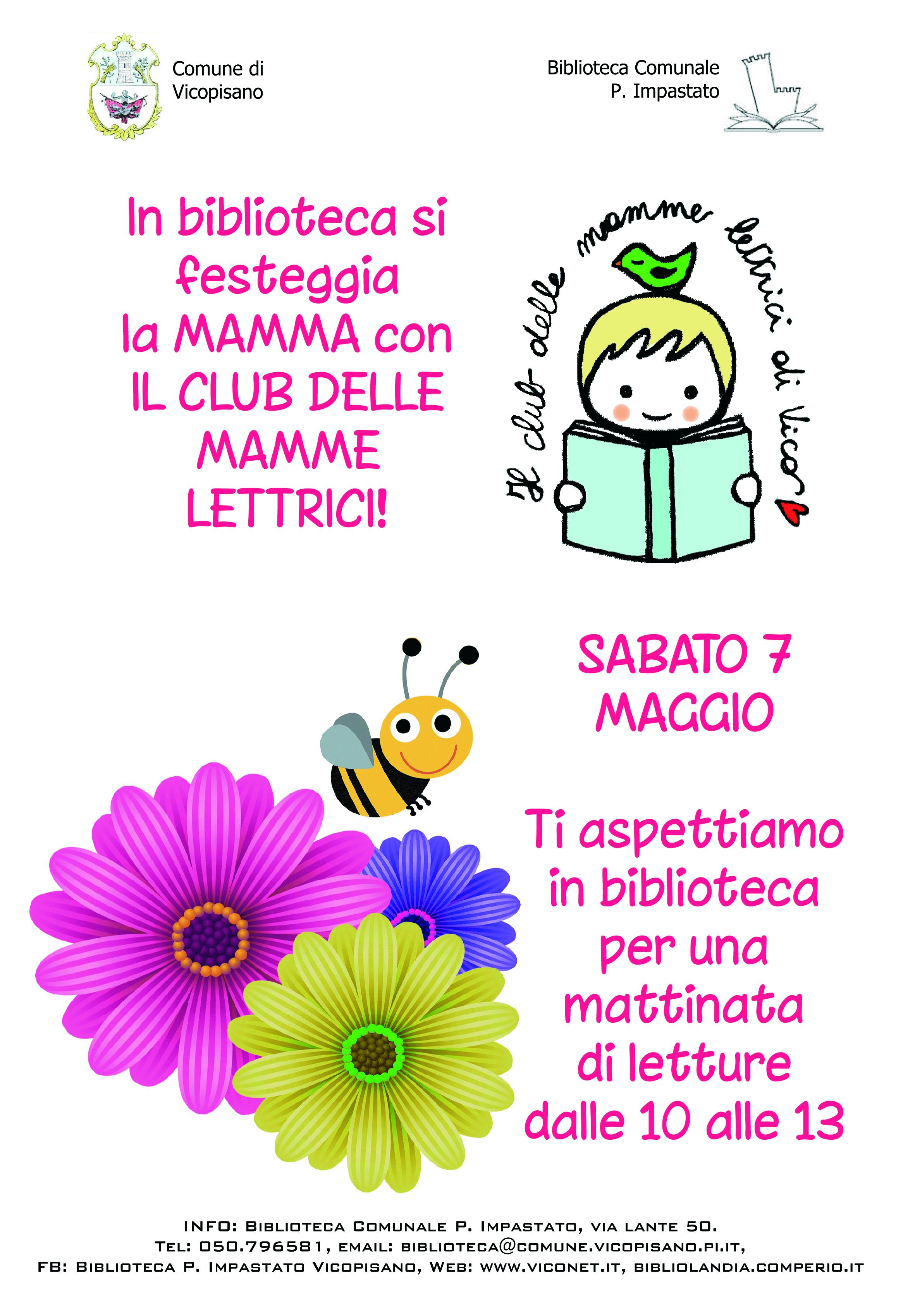 Festa Della Mamma Con Il Club Delle Mamme Lettrici Di Vico